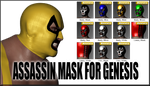 Assassin Mask for Genesis by sedartonfokcaj