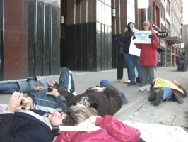 Occupy Louisville March for Healthcare III by jackcomstock