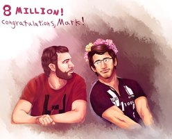 Mark + Wade for 8 mil by Cheese-Sama