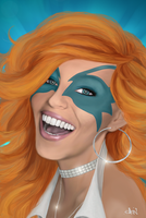 Dazzler: Say Cheese by Lightengale