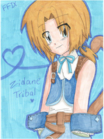 Zidane Tribal by Shichiro-chan