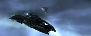 Eve Online - Curse and Brutix by LukeDS