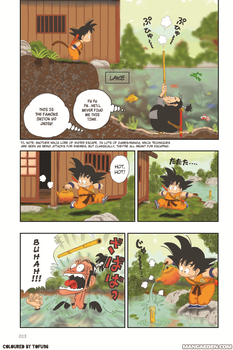 Coloring Some Page of DragonBall Comic!! by Chuba96
