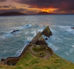 Dun Quinn Harbour by cprmay