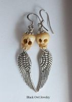 Sweet Death earrings by IdolRebel