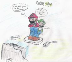 Mario Wii Fit by TheToadBro