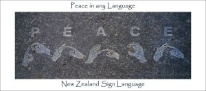 Peace In Any Language by JonGoldie