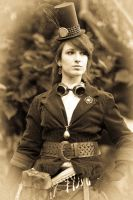 Steampunk Shoot 5 by LadyduLac