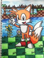 Classic Tails in Green Hill by emichaca