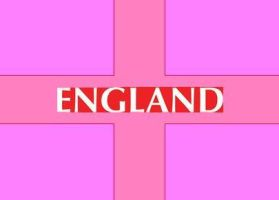 My Version Of The England Flag by AerithGainsborough22