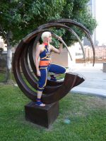 Impa in a cool moon thing by MelodicMadness