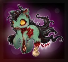 Little Zombie Girl by Sugarstarstudio