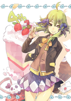 - Gumi 4th Anniversary - by wickedAlucard