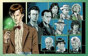 The Eleven Doctors by ShawnVanBriesen
