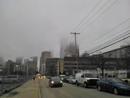 Foggy Day. Again. by citynetter