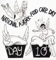 National Angel Food Cake Day by YourFathersMustache