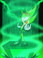 Scourge the Hedgehog by Mery-the-Hedgehog