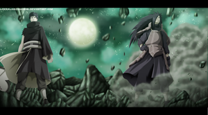 Naruto 600: Obito Uchiha and Madara Uchiha by LiderAlianzaShinobi