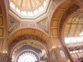Melbourne Exhibition Building 8 by LuchareStock