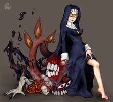 SkullGirls-Double by Asmo-dA