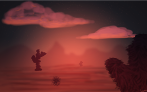 The Desert's Sunset by Sumijesse