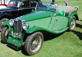 Classic Car 9 - MG by fuguestock