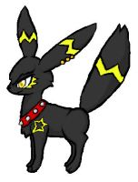 Gift: Lumi the Umbreon by Protoeyesore