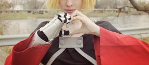 A heart made Fullmetal by TheMechaBecca