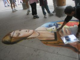 Chalk Artist by littlegeek42