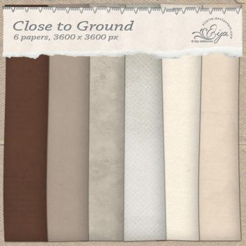 Close to Ground paper pack by Eijaite