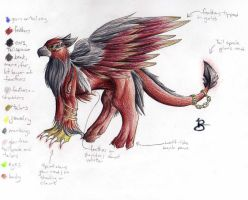 Dark Griffin Ref by blazheirio889
