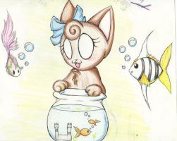 Fish Bowl by LadyFatality