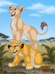 Lion King - Cool view by DolphyDolphiana