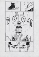 Naruto vs. Link Doujinshi p.1 by FreezingStudio