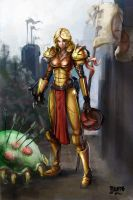 Medieval Samus by Falth-orn