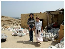Me, Kasia and the Storeroom by Renifer