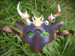 Deer god mask by SilverCicada