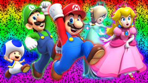 Super Mario 3D World Wallpaper by Glench
