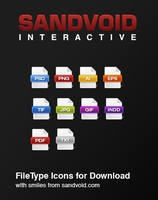 File Type Icons Download by Sandvoid