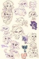 LPS sketches by Lirissa