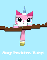 I know it sounds like a Unikitty poster... by Sycotei-B