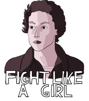 Fight Like a Girl by ragnarok-and-roll