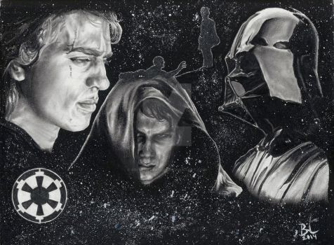 Star Wars: Ep3 Revenge of the Sith Portrait Series by BrittneyBandit