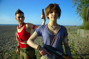 Far Cry 3 cosplay - you are me and I am you by LadyofRohan87