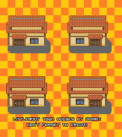 Littleroot Town Houses v2 by Nidrax