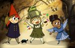 Over the Garden Girls by Captain-Grossaint