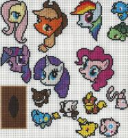Miscellaneous - Cross Stitch by xxEmofoxdemonxx