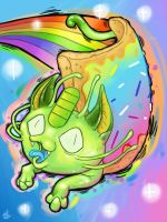 Nyan Meowth by Chewy-Meowth