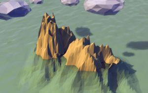 Low poly island by DanielT9
