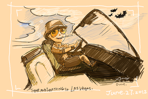 Fear and Loathing in Las Vegas by amoykid
